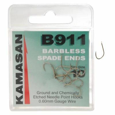 Kamasan B911 Barbless Spade End Hook - Match Carp Barbless Hook
