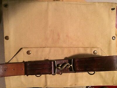 Original WW1 Canadian Oliver Pattern Named Belt