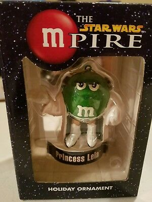 M&M Star Wars Princess Leia  Holiday Ornament