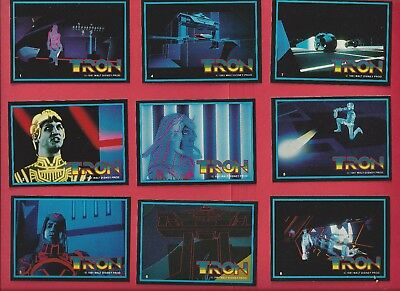 1982 TRON by Donruss Complete YOUR SET 8 cards for $2.00 nm to mint