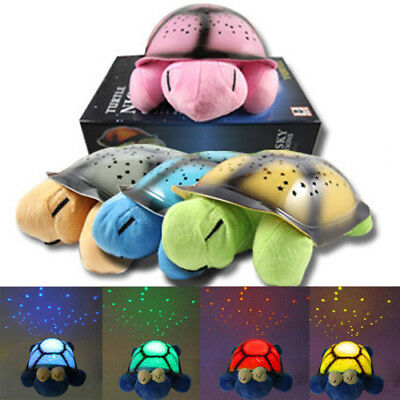 BRAND NEW Twilight Turtle Starry Sky Nightlight Projector Star light for kids