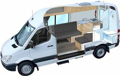 How to Build ANY Camper van Conversion DIY Plan REAL PICTURES campervan