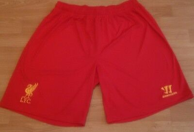 WARRIOR Liverpool FC Mens Training Knitted Shorts - Red - XL - NEW