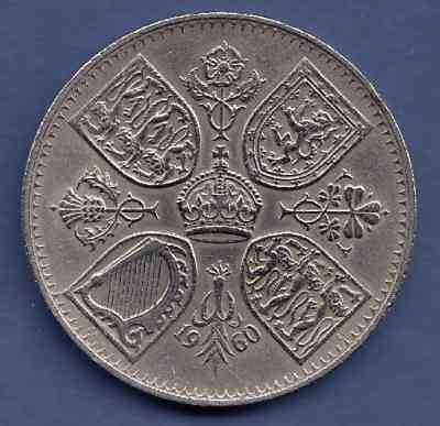1960 Elizabeth II Five Shillings Crown size Nice Commemorative Coin Have a Look