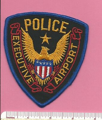 Executive Airport Broward County Florida FL State of Fla Defunct Police Patch