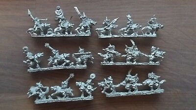 Warmaster Orc & Goblin Wolf Riders