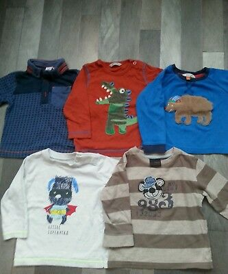 NEXT/BABYBODEN/JOHNLEWIS 9-12 months long sleeve t-shirt winter bundles