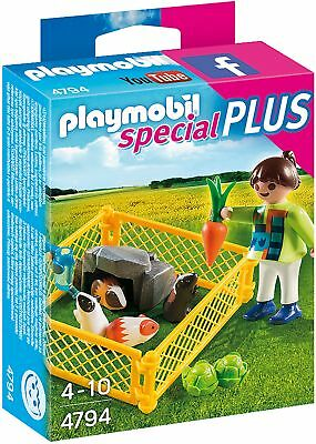 Playmobil 4794 Specials Plus Girl With Guinea Pigs