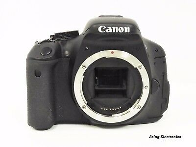 Canon EOS Rebel T3i / EOS 600D 18.0MP Digital SLR Camera (Body Only) For Repair
