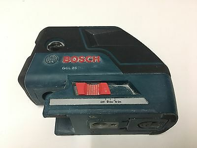 Bosch GCL25 5-Point Self-Leveling Alignment Laser and Cross-Line