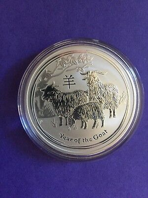 2015 Year of the Goat 1oz Silver Coin