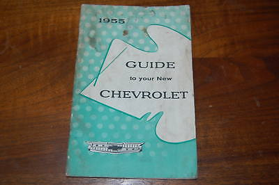 Original 1955  Chevrolet Owners Guide Booklet