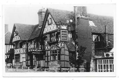 Superb Real Photographic Postcard Of Middle House Hotel Mayfield Sussex