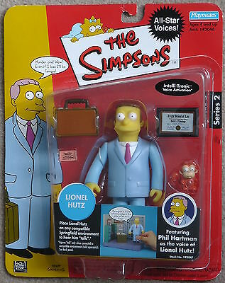Playmates The Simpsons Exclusive Celebrity Series Lionel Hutz