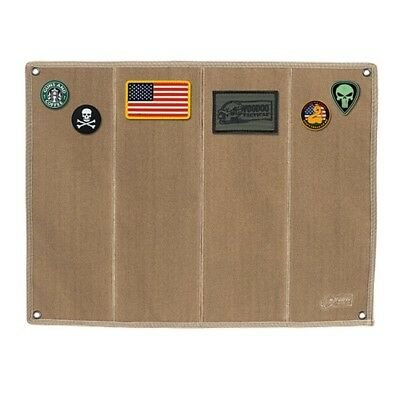 Voodoo Tactical 07-0068007000 Morale Patch Board with Brush Fabric