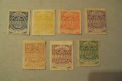 Samoa Very Rare Old Stamps Complete Set 1877