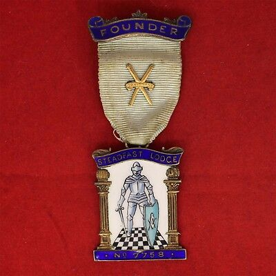 FOUNDER Silver Jewel, Steadfast Lodge № 7758