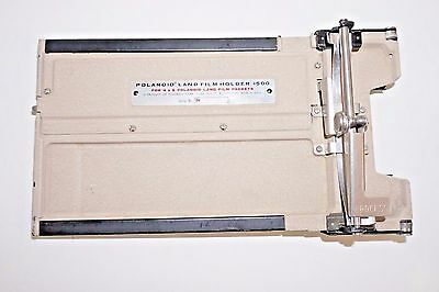 Vintage Polaroid Land Film Holder #500 for 4x5 Polaroid Land Film Back Packets