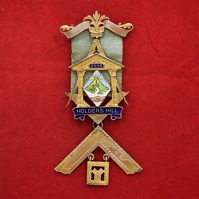 Past Master Silver Jewel, Holders Hill Lodge № 6908