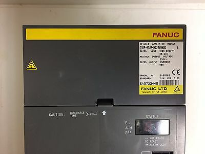 Fanuc A06B-6088-H222#h500 Spindle Amplifier Fully Refurbished!!! Exchange Only