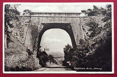 Egyptian Arch, Newry, Printed, Posted 1950
