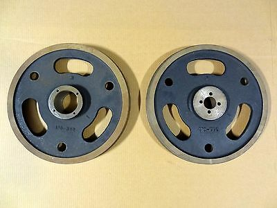 """2 Marvel 14"""" Horizontal Replacement Band Saw Wheels Model # A10-Bb2"""