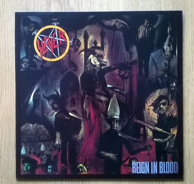 Slayer Reign In Blood original 1986 DEF JAM Lp and inner. Near Mint. VERY RARE