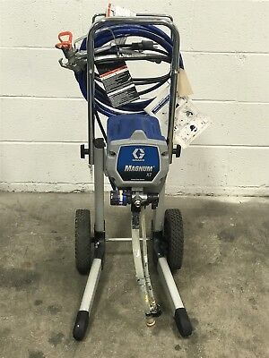 Used Graco Magnum X7 Airless Paint Sprayer Nice (77)