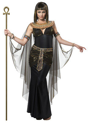 Women's  Queen of Egypt CLEOPATRA Egyptian Goddess Adult Halloween Costume 01222