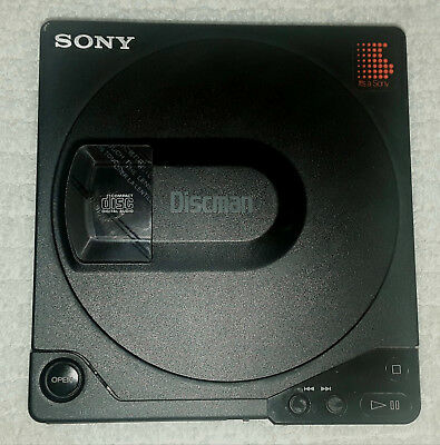 Rare Sony Discman D-15 Working with accessories