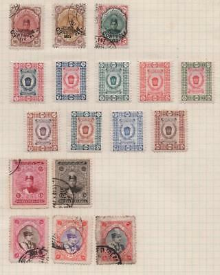 MIDDLE EAST: Used/Unused Examples - Ex-Old Time Collection - Album Page (11332)