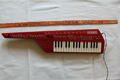 Vintage 80s Yamaha SHS-10 Digital Keytar Keyboard and MIDI Synth w/Adapter Japan