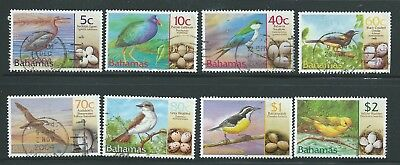 Bahamas Good Lot 2001 Birds Values To $2.00 Used