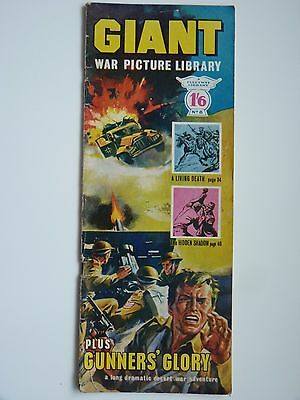 No. 8 GIANT WAR PICTURE LIBRARY, early edition, published 1964