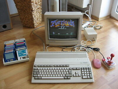 Commodore Amiga 500 PLUS guter Zustand - volle Funktion SEALED 100% OK Kick 2.04