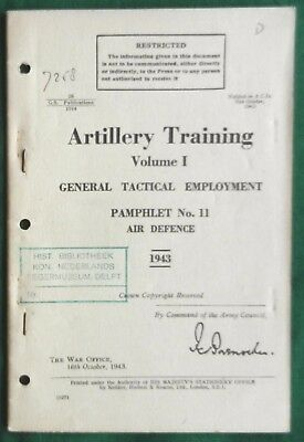 Artillery Training Air Defence Pamphlet 1943