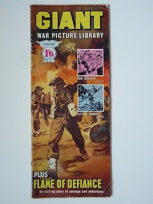 No. 37 GIANT WAR PICTURE LIBRARY, early edition, published 1965