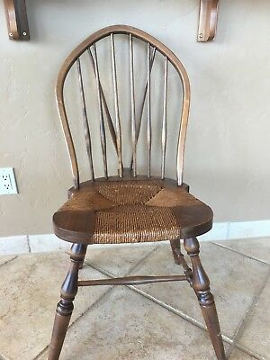 Antique Windsor Chair Karpen Chicago 36 Ins High