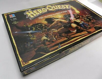 HERO QUEST Vintage Board Game by MB Games