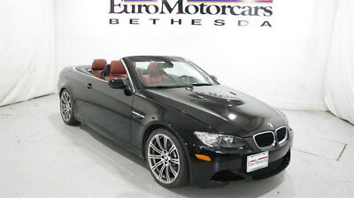 2013 BMW M3 Base Convertible 2-Door 2013 14 bmw m3 convertible navigation used black red leather low miles six speed