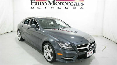 2014 Mercedes-Benz CLS-Class 4dr Sedan CLS 550 4MATIC mercedes benz cls 550 4matic navigation certified cpo used 2014 low miles grey