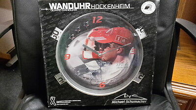 Wanduhr MICHAEL SCHUMACHER COLLECTION ***OVP***NEU***