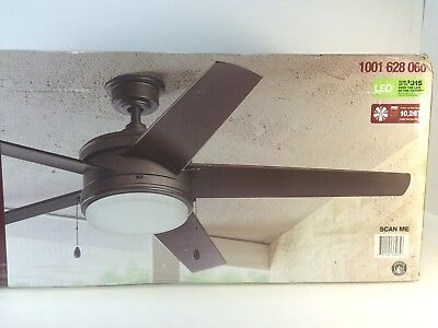 "* Home Decorators YG528-EB Portwood 60"" Espresso Bronze Ceiling Fan 1001628060"