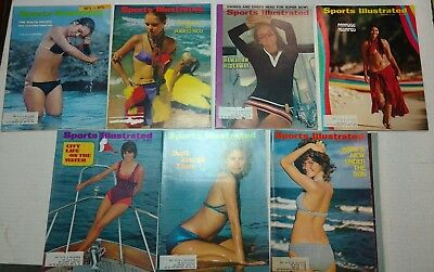 7 Sports Illustrated Suimsuit editions 1968-1974