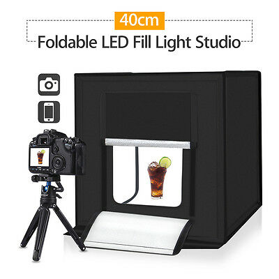 PULUZ 40cm Photography SoftBox Kit Light Tent Studio High Energy High Brightness