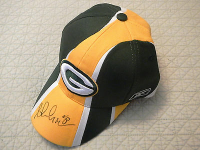 Ahman Green #30 Autographed Hat, Green Bay Packers All Time Rushing Leader