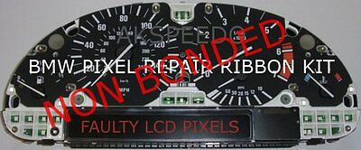 BMW X5 E53 E39 E38 Speedometer Instrument Cluster LCD Pixel Repair Ribbon Speedo