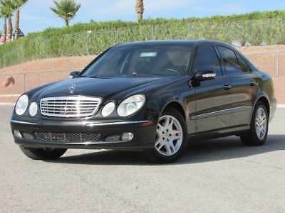2005 Mercedes-Benz E-Class CDI Sedan 4-Door 2005 MERCEDES-BENZ E-Class E320 CDI TURBO DIESEL