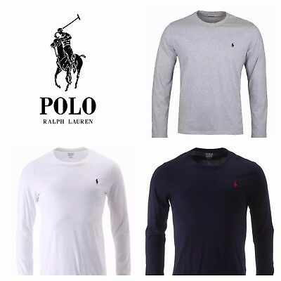 Men's Ralph Lauren Polo  Long Sleeve Crew Neck T-shirt New With Tag