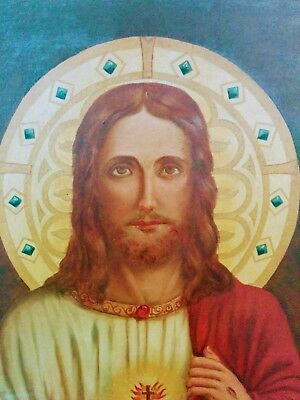 Jesus Christ oil painting from the 1800s